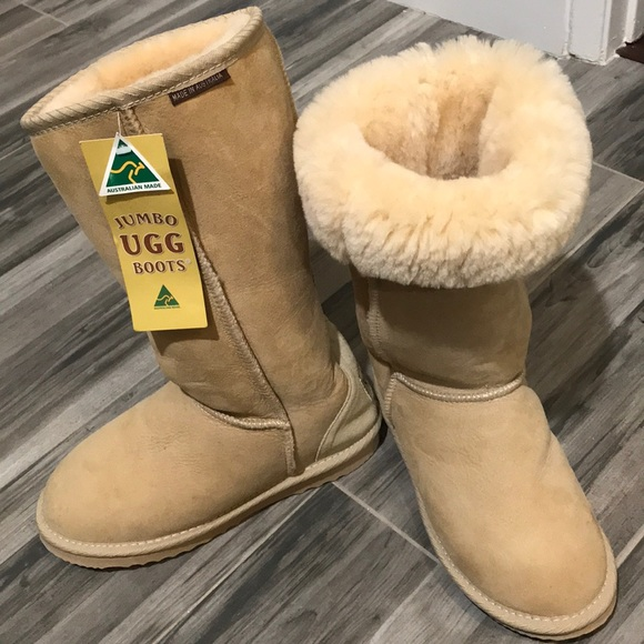 157dbefe449 Jumbo Ugg Classic Tall Boots Made in Australia NWT